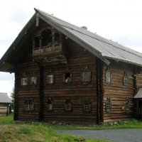 Крестьянский дом в Кижах :: Надежда