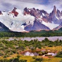 приближаемся к горам Los Torres :: Георгий А