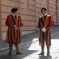 Гвардейцы Ватикана :: Нина Синица