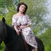 Елена и Водопад :: Кристина Щукина