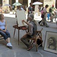 На улице Флоренции :: Нина Синица