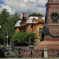 Исторический центр Иркутска :: Nikolay Svetin