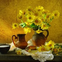 Цветами лето радужно и радугой манит… :: Валентина Колова