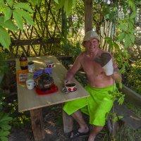 Чай после парилки :: Сергей Цветков