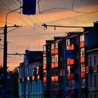 В окнах заката золото огня :: Сергей Землянский