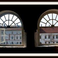 Вид на дворик Соловецкого Кремля :: Наталья Лунева