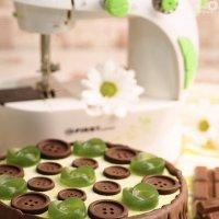 Тематический, веганский, сыроедческий тортик) свои модели готовлю сама))) :: Наталья Филипсен