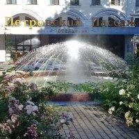 Сегодня включили фонтаны. :: Зоя Чария