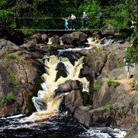 Рускеальский водопад. Карелия. :: Фёкла
