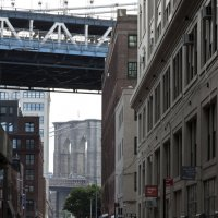 Вид на Бруклинский мост :: Andrey Naidenov