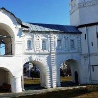 Покровский монастырь. Крытая галерея :: Лидия Бусурина