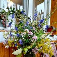 Букет полевых цветов с дикими яблоками :) :: nika555nika Ирина