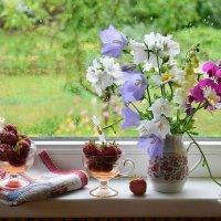 Когда за окошком июльский дождик... :: Рита S