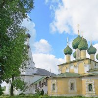 Церковь Усекновения главы Иоанна Предтечи в Алексеевском Угличском монастыре :: Елен@Ёлочка К.Е.Т.