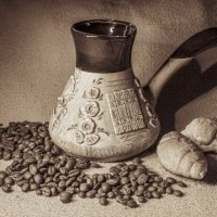 Утренний кофе. :: Елена Сливка