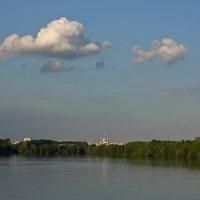 Вечером на Москва-реке. :: Александр Сергеевич