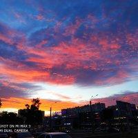 Закат солнца в городе. :: Фёкла