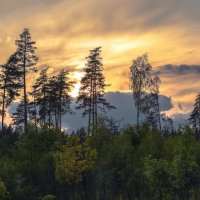 Угасающий закат... :: Александр Попович