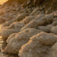 природа Мёртвого моря на рассвете :: Осень