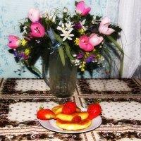 Завтрак в деревне. :: Маргарита ( Марта ) Дрожжина
