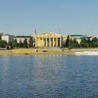 На берегу Чебоксарского залива. :: Виталий Бобров