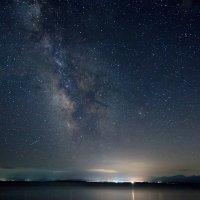 млечный путь в небе над севанским озером :: KanSky - Карен Чахалян