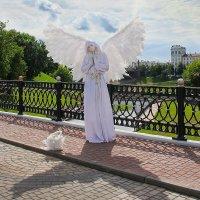 """"""" Ангел посетил Витебск."""" :: Роланд Дубровский"""