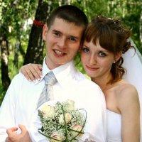 Жених и невеста. :: Владимир Помазан