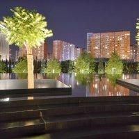 ЖК Панорама. Вид из парка Галицкого в Краснодаре :: Андрей Майоров