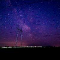 Млечный путь, вид из Адыгеи под Краснодаром :: Алексей Кузьмичев