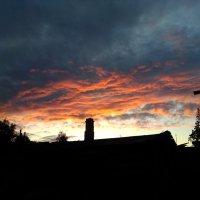 Красный закат :: Света Кондрашова