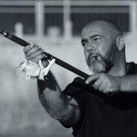 Мачо на рыбалке :: Сергей Кузнецов