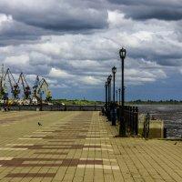 Речной порт и набережная :: Андрей К