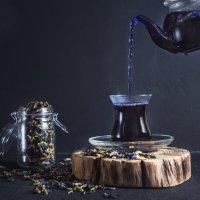 Тайский синий чай (Чайная серия) :: Татьяна Курамшина
