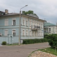 Набережная в Вологде :: Евгений Кочуров