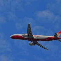 Как улетают самолёты... :: Татьяна Тюменка