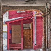 Красный дом :: Александр Тарноградский