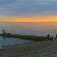 Вечер у Черного моря :: Raduzka (Надежда Веркина)