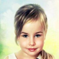 портрет ребенка :: Елена Лустова (Северинова)