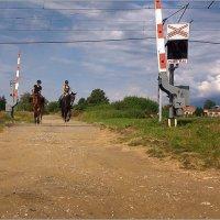 человек и лошадь :: Jiří Valiska