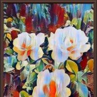 Абстрактные розы :: Владимир Бровко