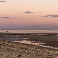 Сиреневый закат на Белом море. :: Марина Никулина