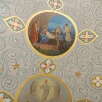 Потолочная роспись над западным крыльцом церкви Усекновения Главы Иоанна Предтечи в Братееве :: Александр Качалин