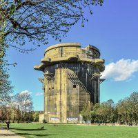 Зенитная G-башня люфтваффе в Вене Flakturm :: Eldar Baykiev