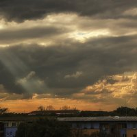 Небо с балкона :: Alexander Andronik