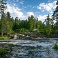 Рускеальские водопады :: Михаил
