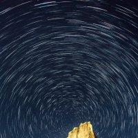 Белая скала под звездным небом :: Вячеслав Ложкин