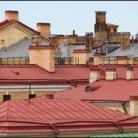 Крыши Санкт-Петербурга. :: Валерий Готлиб