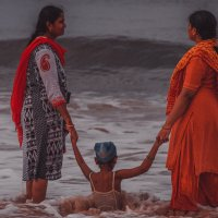 Женщины, они и в Индии женщины :: Виталий Кулешов (kadet.www)