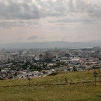 Вид с Караульной горы в Красноярске :: Галина